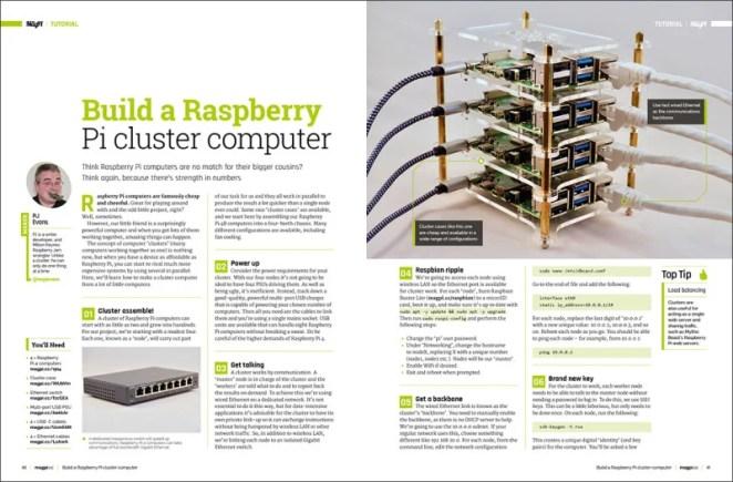 Build a Raspberry Pi cluster computer