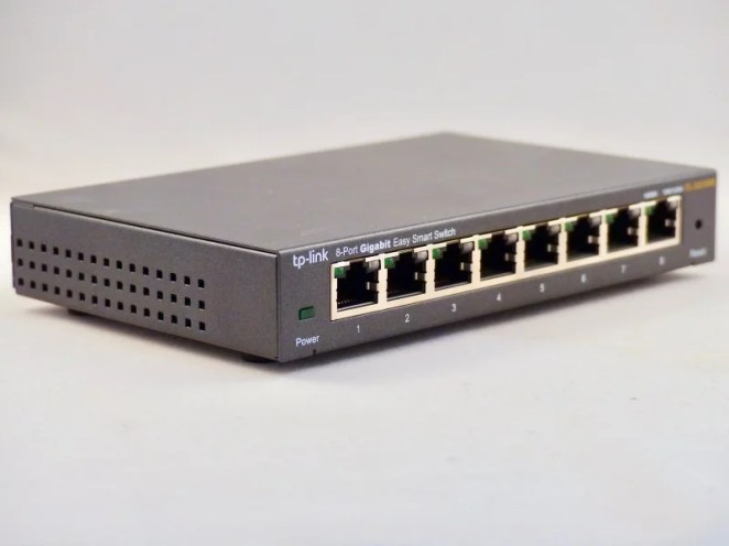 A dedicated inexpensive switch will speed up communications. Raspberry Pi 4 computers can take advantage of full-bandwidth Gigabit Ethernet