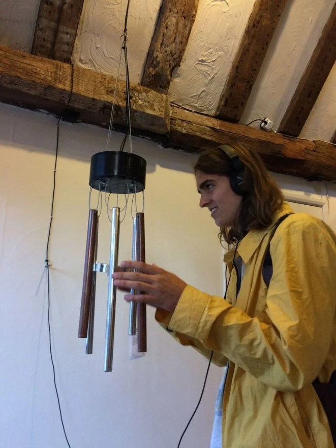 Perpetual Chimes produce a calming soundscape to be enjoyed using headphones