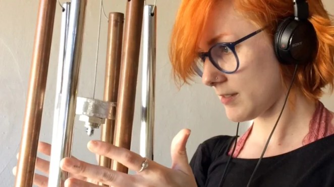 Perpetual Chimes rely on human interaction to move them