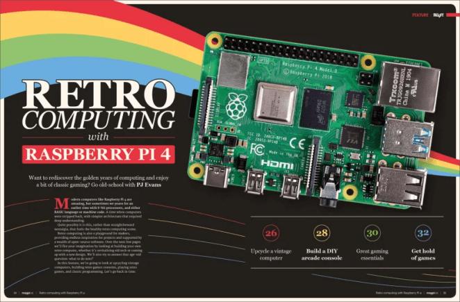 Retro computing with Raspberry Pi 4