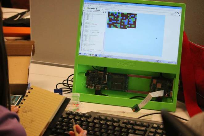 Sean encourages people to try Raspberry Pi projects such as Trinket