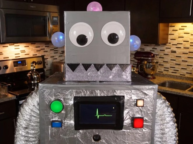 Scary robots for scary makers