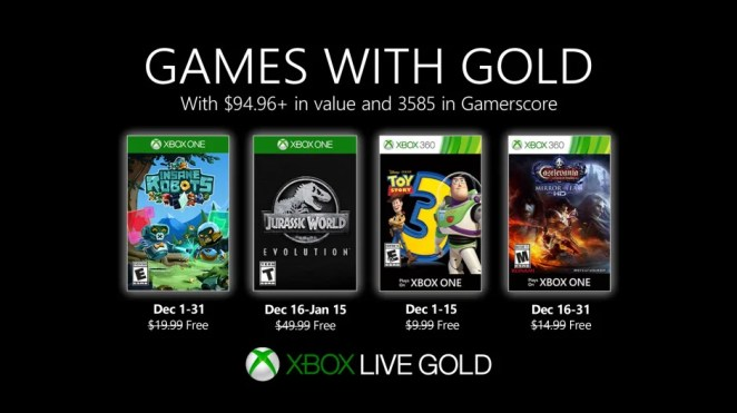 Games with Gold - December 2019