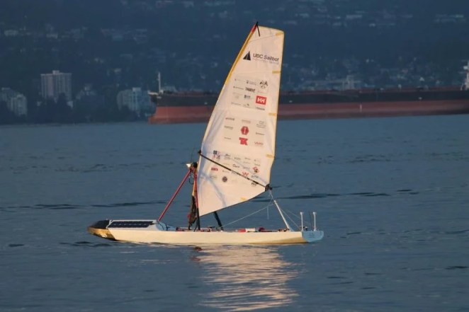 The UBS Sailbot is one of several Raspberry Pi-controlled yachts