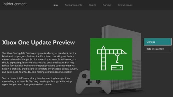 System Update