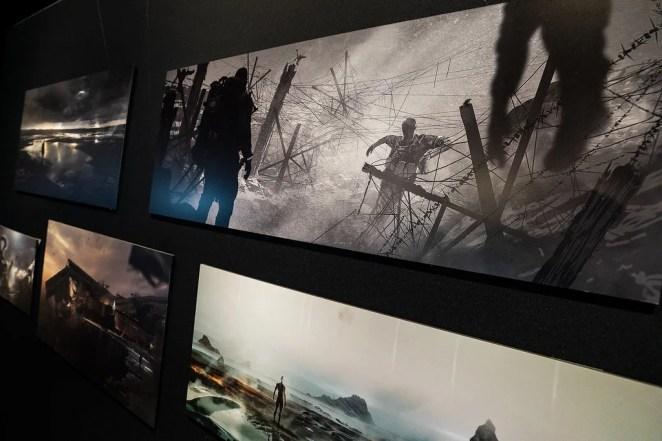 Fractured Worlds: Death Stranding Pop-Up Gallery