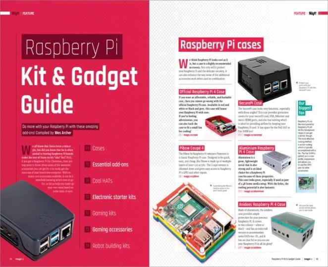 Raspberry Pi kit & gadget guide