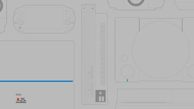#25YearsOfPlay Wallpaper: Desktop - Light