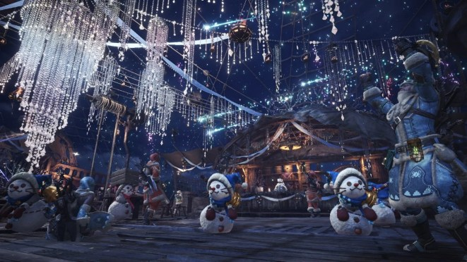 Monster Hunter World - Holiday Festivities