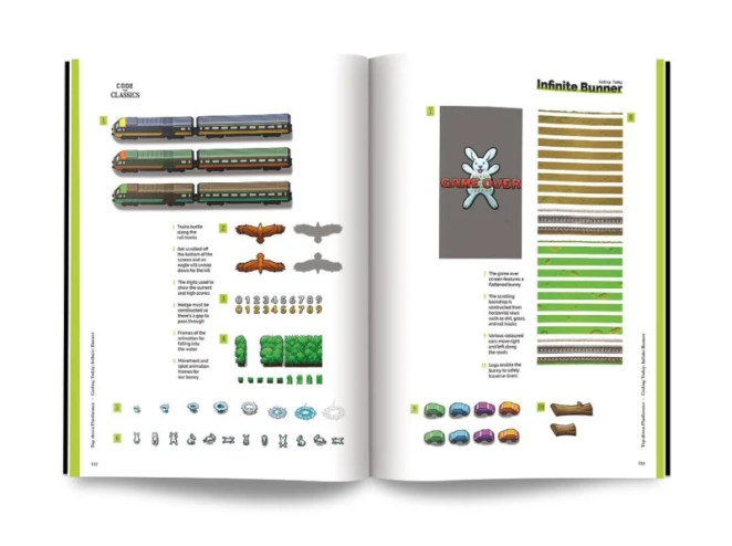 Code the Classics: game graphics