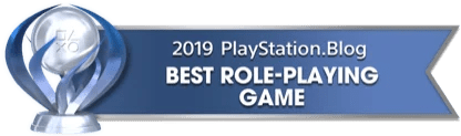 PS Blog Game of the Year 2019 - Best Role-Playing Game - 1 - Platinum
