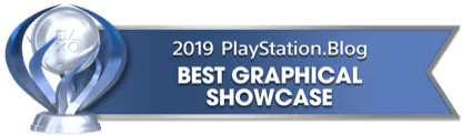 PS Blog Game of the Year 2019 - Best Graphical Showcase - 1 - Platinum