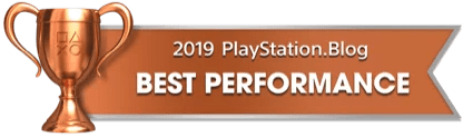 PS Blog Game of the Year 2019 - Best Performance - 4 - Bronze