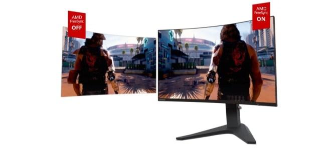 Lenovo G32qc Gaming Monitor