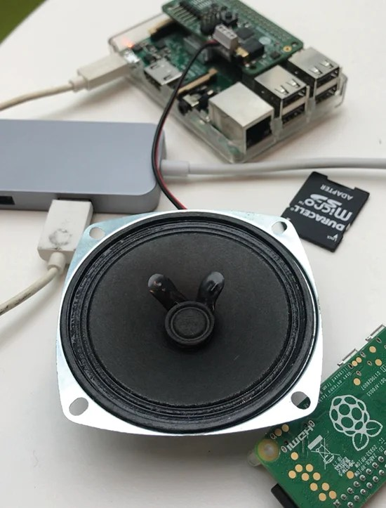 Cheeseborg is an ideal project for Google Assistant in the Raspberry Pi-enabled AY Voice Kit