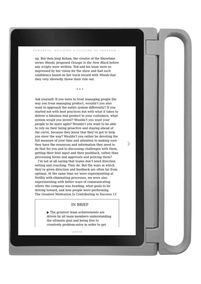 CutiePi can be used as a ebook device as well as a touchscreen tablet