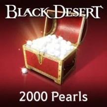 Black Desert - 2,000 Pearls