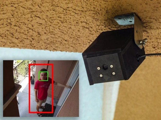 Face detection and CCTV functions make this a smart security setup
