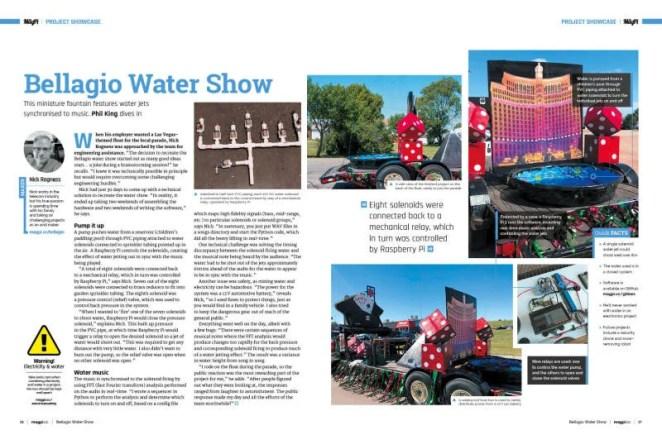 Project Showcase: Bellagio Fountain