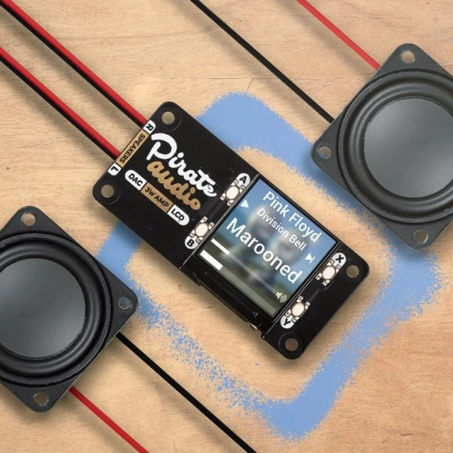 Four tiny push-fit terminals attach to passive speakers