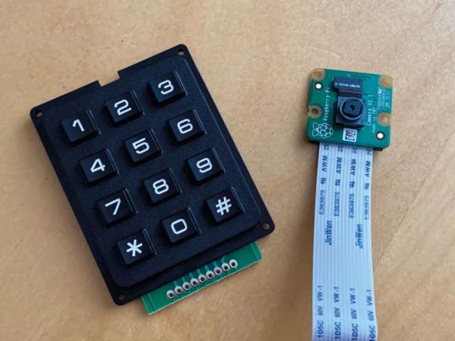 There's plenty of scope for adding more to the project, such as an inexpensive keypad or a camera