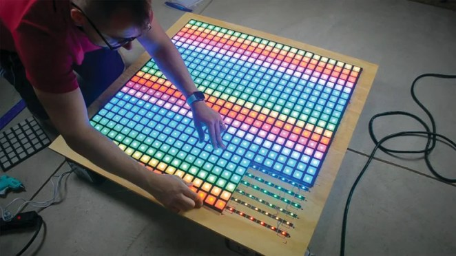 Diffuser plates are required on all the LEDs – a job for a glue gun