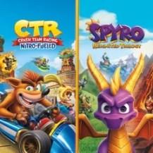 Crash™ Team Racing Nitro-Fueled + Spyro™-Spielepaket