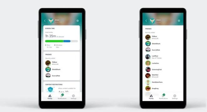 Mit der Xbox Family Settings App (Preview) haben Eltern das Spielverhalten ihrer Kinder noch besser im Blick