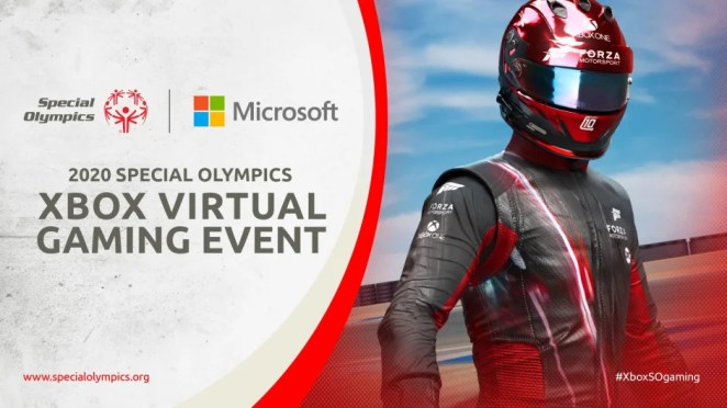Special Olympics Xbox Virtual Gaming Event