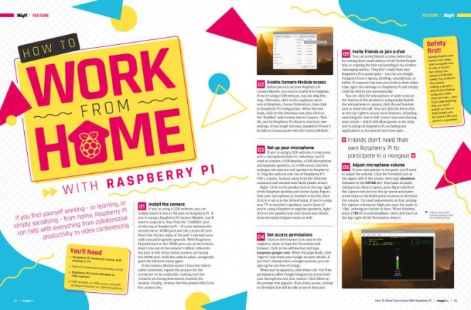 How to work from home with Raspberry Pi