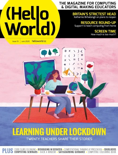 Hello World issue 13 front cover