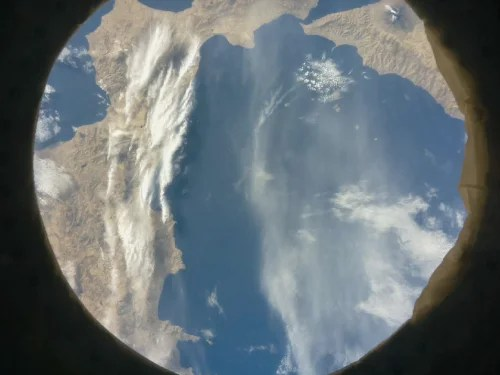 Photo of Italy, Calabria and Sicilia by AstroLorenzi team — Astro Pi Mission Space Lab experiment