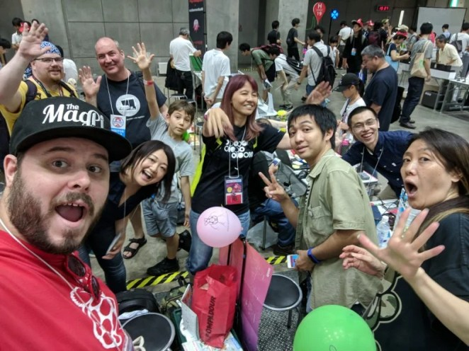 We've met the Japanese community in person, and they're incredibly creative