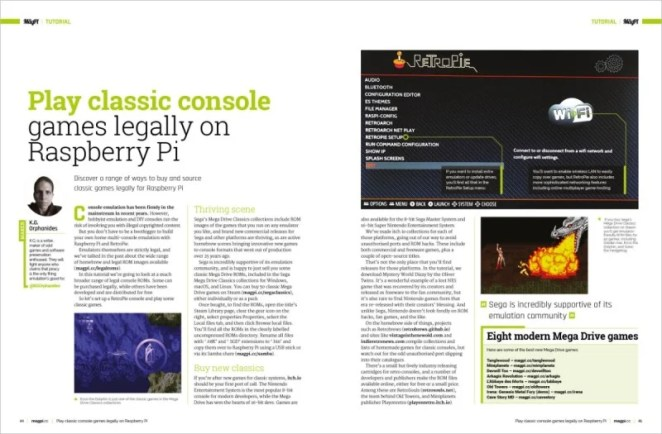 Play classic console games legally on Raspberry Pi