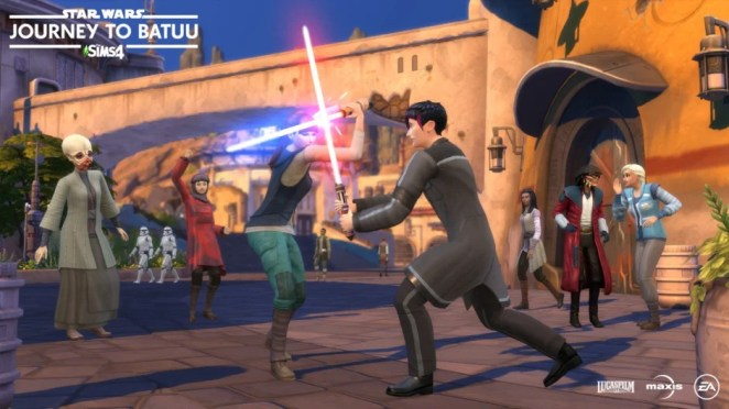 Next Week on Xbox: Neue Spiele vom 8. bis 11. September: Die Sims 4: Star Wars - Journey to Batuu