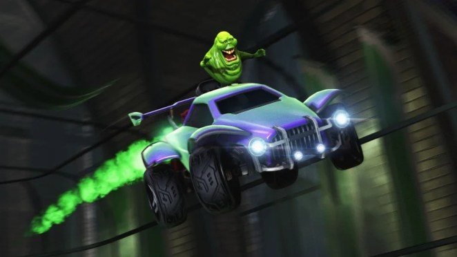 Rocket League's Haunted Hallows