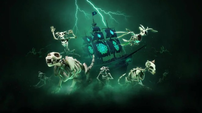 Sea of Thieves-Update: Jede Menge Gruselspaß in Fate of the Damned