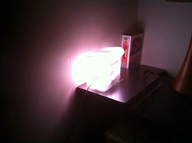 LED Light Sunrise Clock