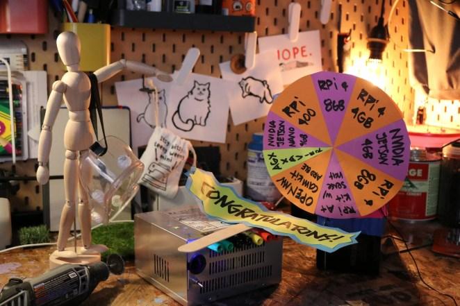 Estefannie's giveaway wheel