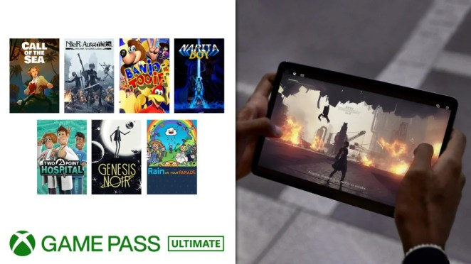Xbox Game Pass Touch Controls