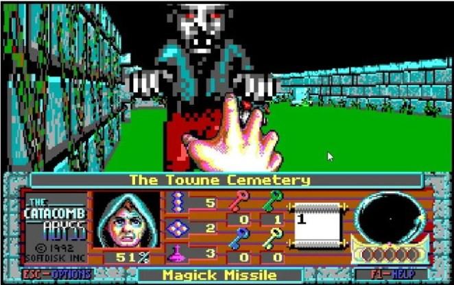 Catacombs game screengrab