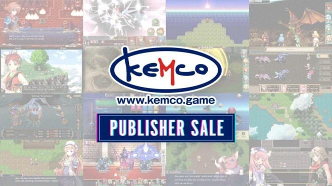 Kemco Publisher Sale Hero Image