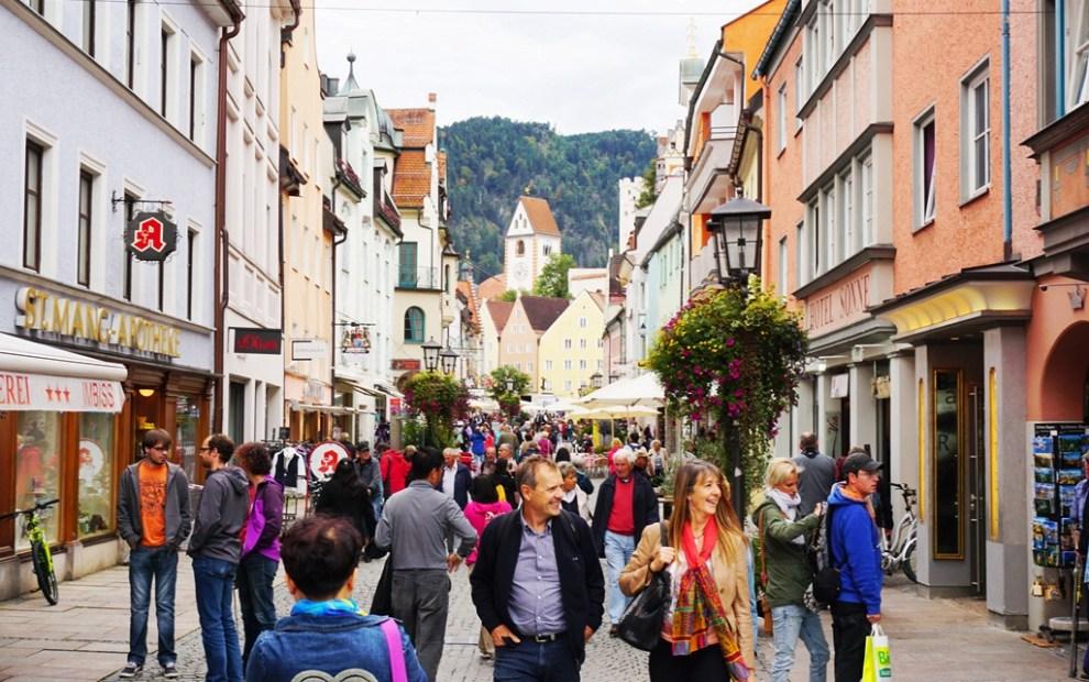 Castelo de Neuschwanstein - Cidade de Füssen