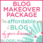 Blogelina\'s Blog Makeover Service