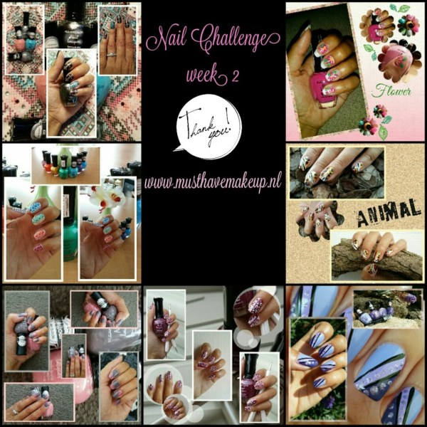 Week 2 van de 31 Day Nail Challenge