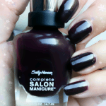 Sally Hansen Pat On The Black 660