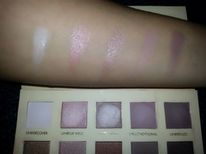 Swatches Lorac Unzipped