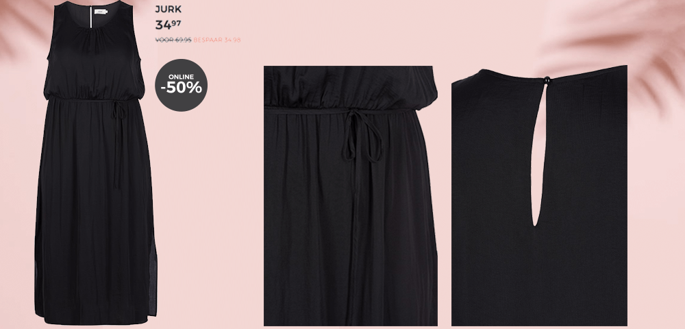Zizzi Black Dress