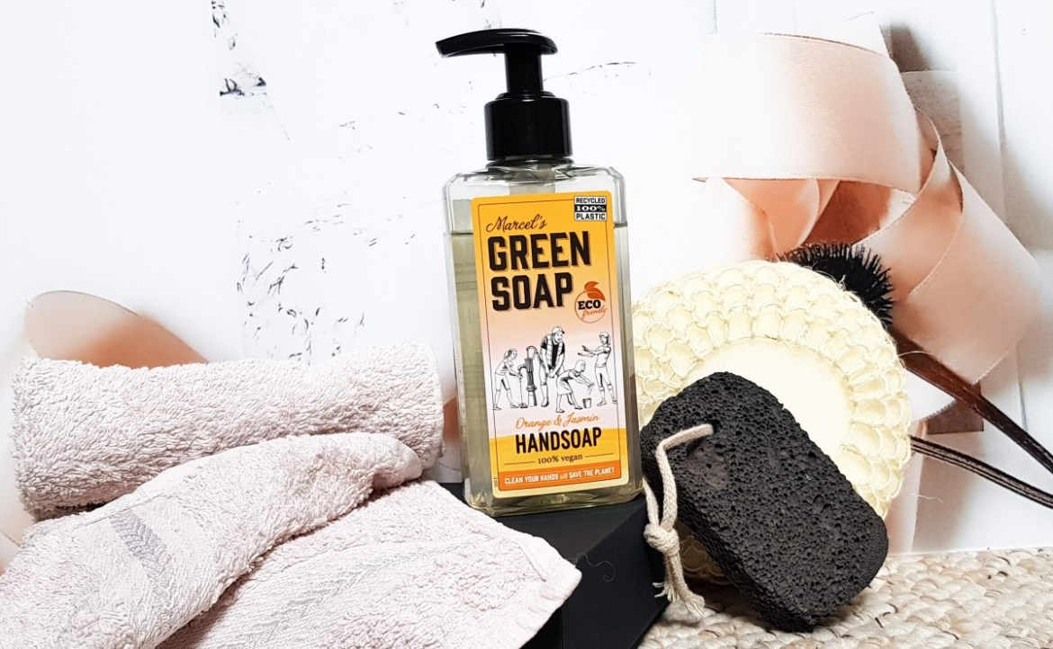 Marcel's Green Soap Handsoap Orange & Jasmine